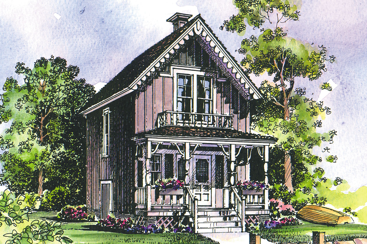 42010 on Victorian Cottage House Plans